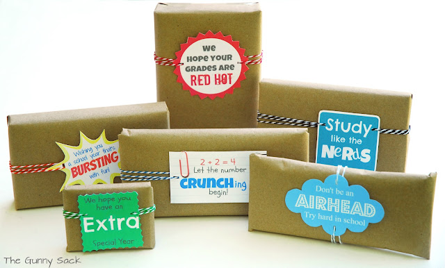 Back To School Candy Grams The Gunny Sack