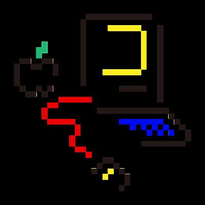 自作のシステムロゴ
