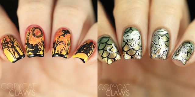 Dragon Nail Art