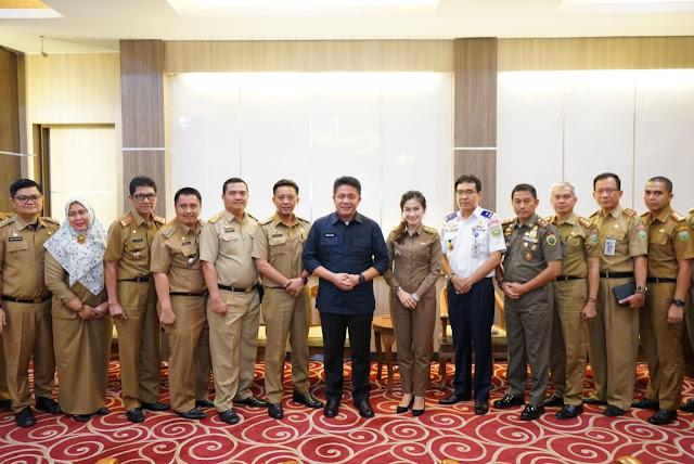 Herman Deru bangga Sumsel Tuan Rumah Temu Nasional Purna STPDN