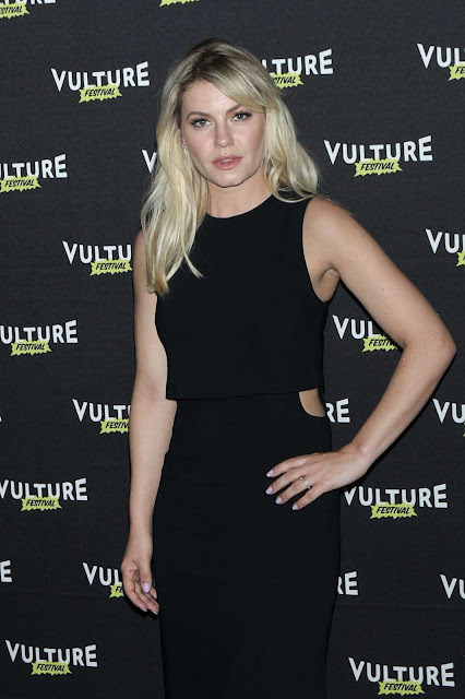 Actress, Model, @ Elisha Cuthbert - Happy Endings Reunion at the 2016 Vulture Festival in NYC