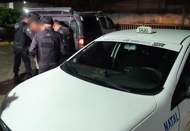 Motorista por aplicativo é vítima de sequestro relâmpago em Natal