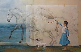 imagenes-corceles-niños-pintura