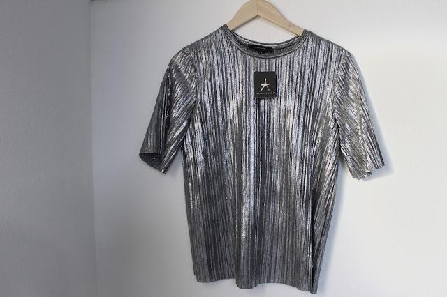 Zilveren top Primark Amsterdam shoplog Zeeuws modemeisje