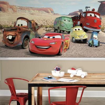 Valokuvatapetti Lapsia Disney Disneyn Autot