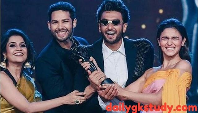 Latest awards and honours 2020 : World Award, Filmfare, Academy Awards.