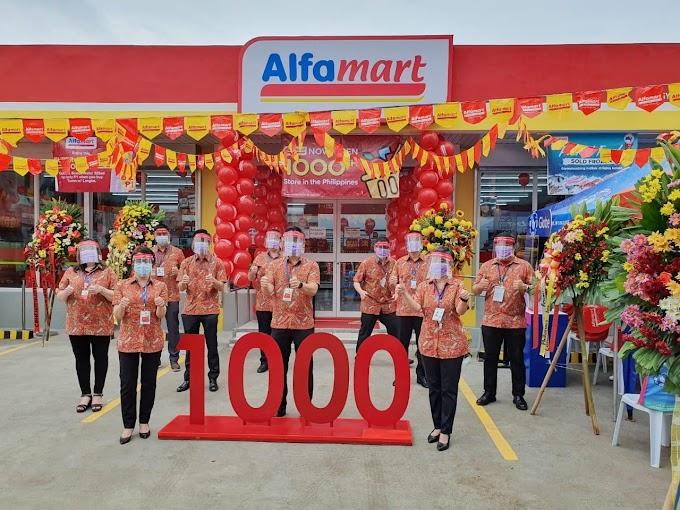 Alfamart Buka Cabang Ke 1000 di Filipina