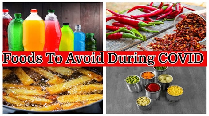 Foods To Avoid During COVID