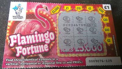 £1 Flamingo Fortune Scratchcard