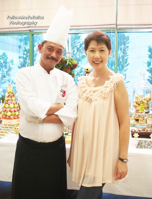 My Mandatory Pose With Executive Chef Zaffar Samad