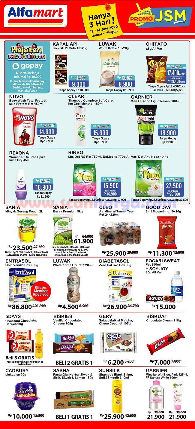 Katalog Promo Harian JSM Alfamart 12 - 14 Juni 2020