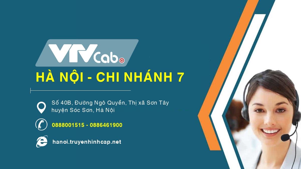 VTVCab Hà Nội chi nhánh 7 - Huyện Sóc Sơn