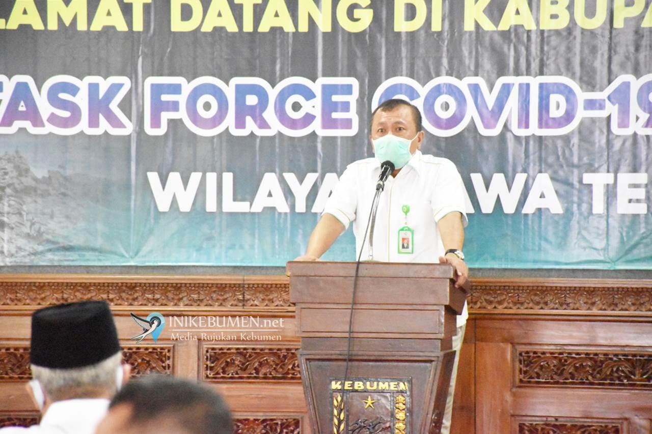 Penanganan Covid-19 di Kebumen Dipantau Langsung Tim Taskforce Kemenkes