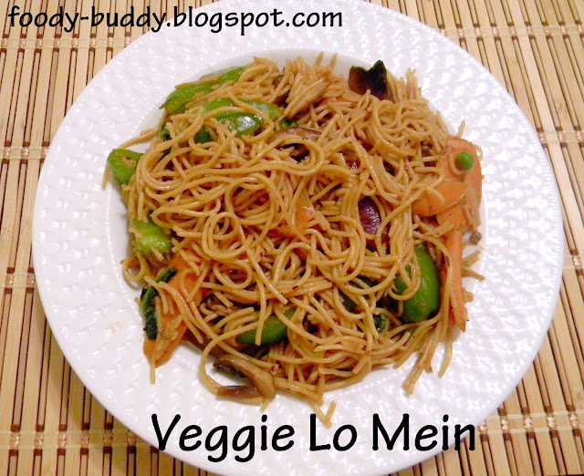 vegetable lo mein noodles recipe