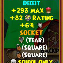 Wizard101 Polaris Best Gear Drops - Rasputin Amulets