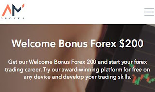 AMBroker $100 up to $200 Forex No Deposit Bonus