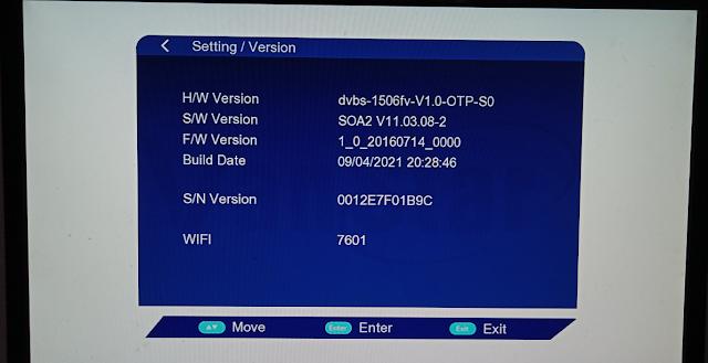 VANSTAR V8 PRO 1506FV 512 4M NEW SOFTWARE 9 APRIL 2021