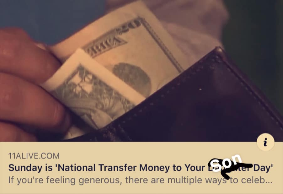 National Transfer Money to Your Son Wishes pics free download