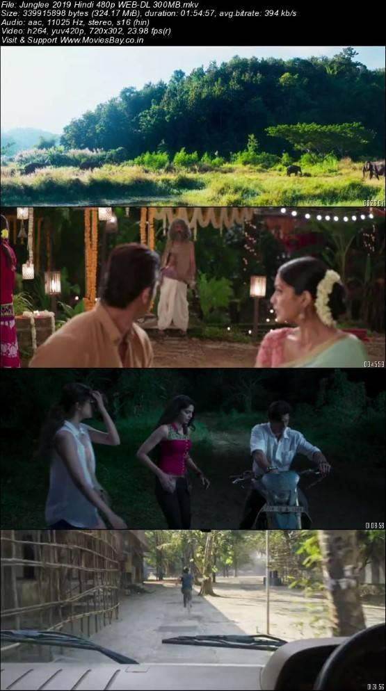 Junglee 2019 Hindi 480p WEB-DL 300MB