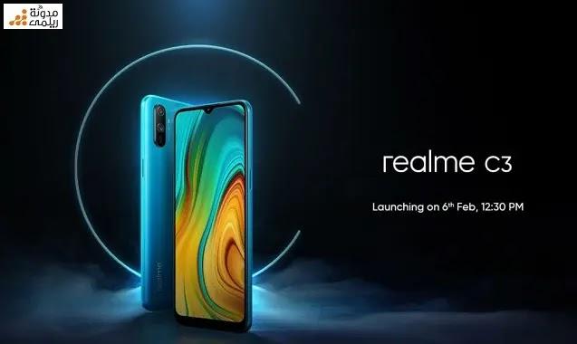 تسريبات عن هاتف ريلمي الجديد Realme C3 بثلاث كاميرات وبطارية 5000 مللي أمبير