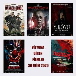Vizyona Giren Filmler 30 Ekim 2020