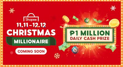 Shopee 11.11-12.12 Christmas Millionaire