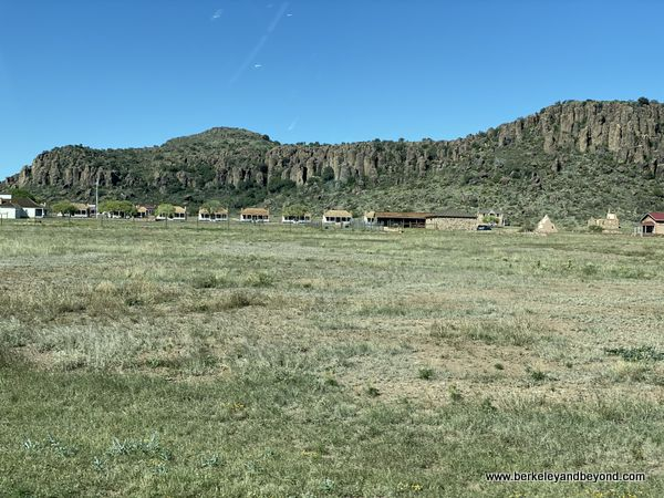 overview of Fort Davis National Historic Site in Fort Davis, West Texas