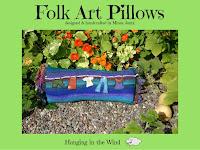 Folk Art Pillows designed by Minaz Jantz