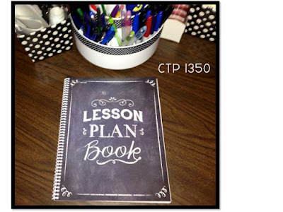 CTP 1350 Chalk It Up! Lesson Plan Book