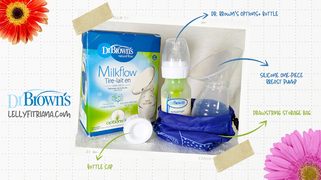 Dr. Brown's Silicone One-Piece Breast Pump