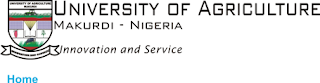 Federal University Of Agriculture Makurdi (FUAM) Remedial Admisson List For 2016/2017 Is Out