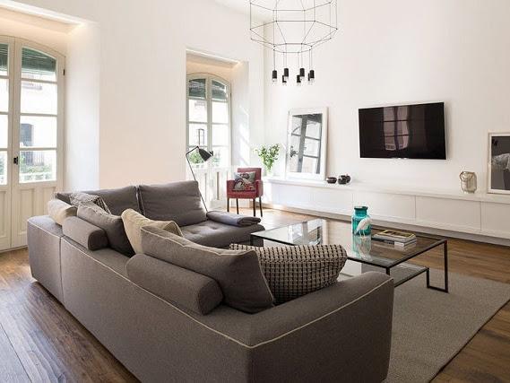 Un apartamento con distribución abierta en Sevilla