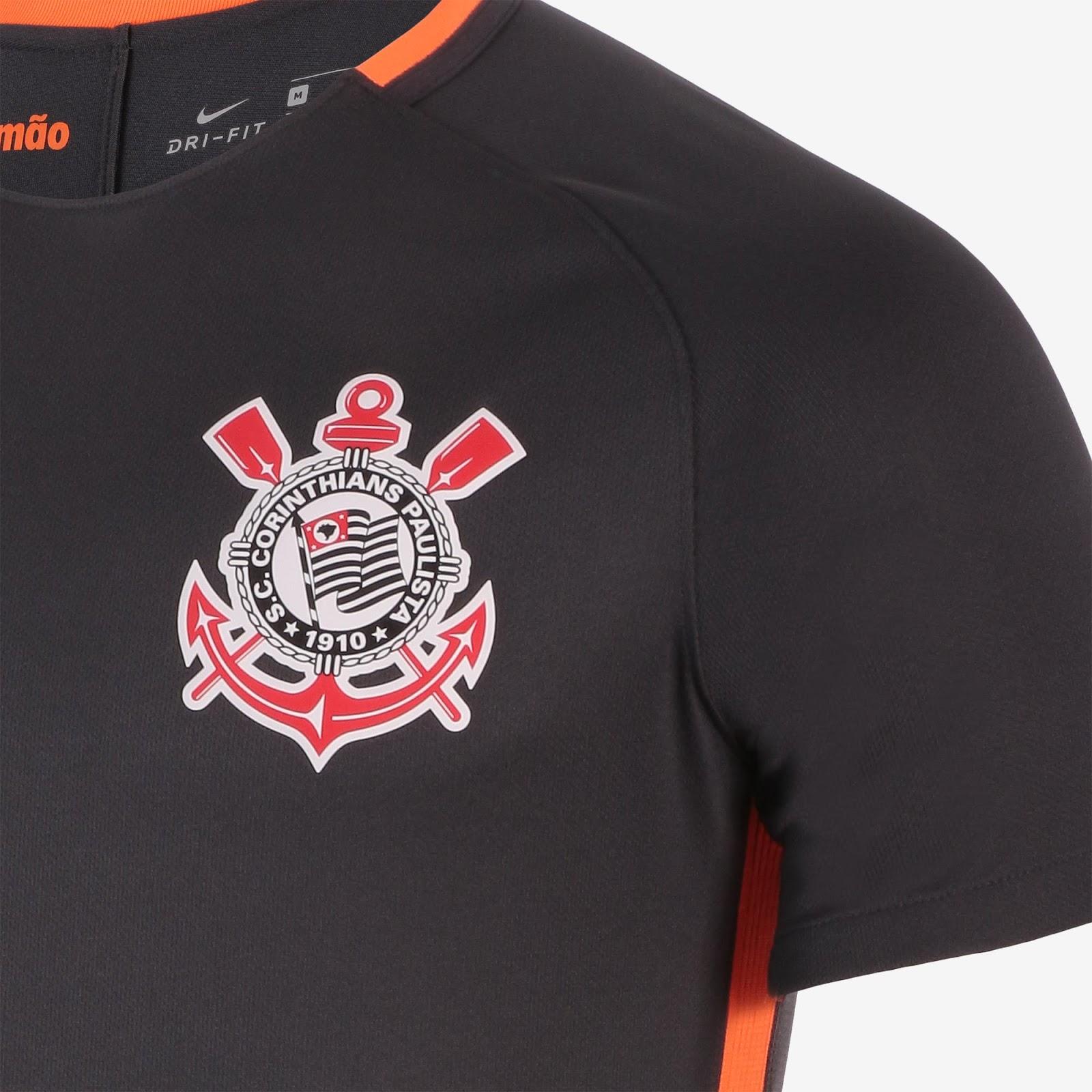 Nike divulga a nova terceira camisa do Corinthians - Show de Camisas 9ca8c862368f1