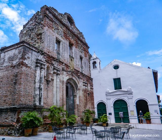 Convento de São Domingos, no Casco Viejo da Cidade do Panamá