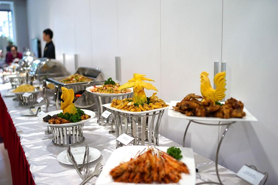 Hình ảnh trang trí tiệc buffet đẹp
