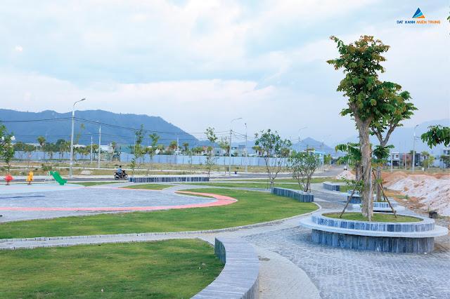 Công viên được xây dựng bên trong dự án Lakeside Infinity