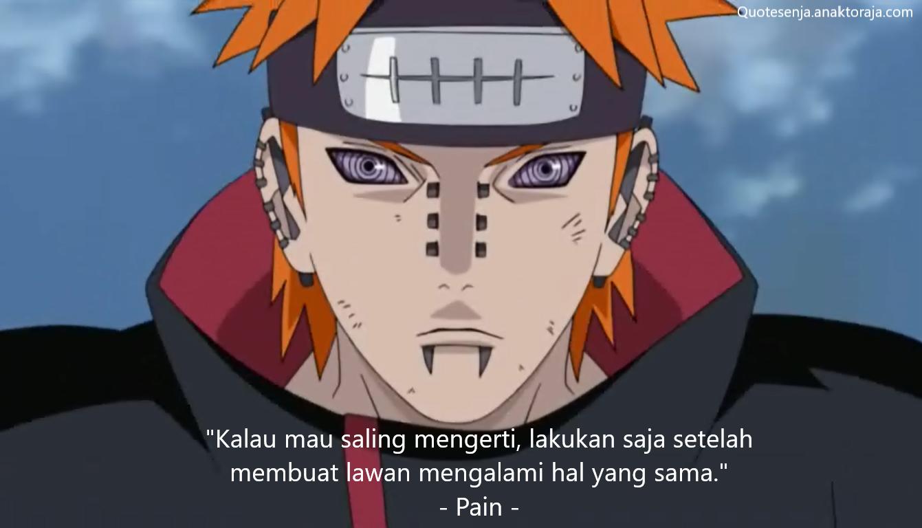 Gambar kata-kata Naruto tentang balas dendam