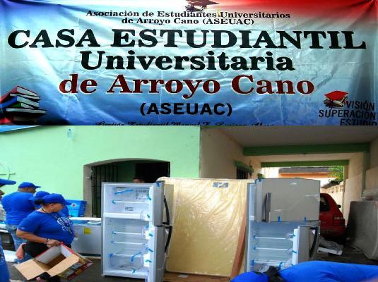 Denuncian supuestas irregularidades en la Asociación de Estudiantes Universitarios de Arroyo Cano.