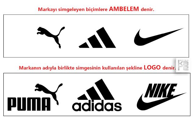 logo amblem arasındaki fark