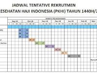 Jadwal Tentatif Rekrutmen TKHI PPIH PKHI 2019 M 1440 H