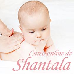 Curso shantala para bebês