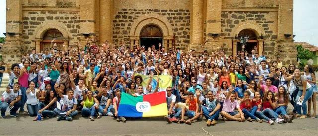 Regionais Norte 3 e Centro-Oeste celebram caminhada missionária em Porto Nacional (TO)