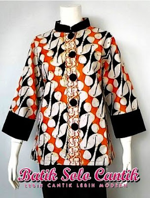 Model Batik Solo Cantik Diyanti