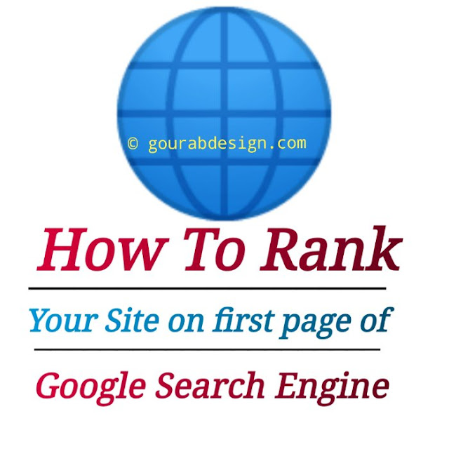 how to rank your blog on the first page of google search engine