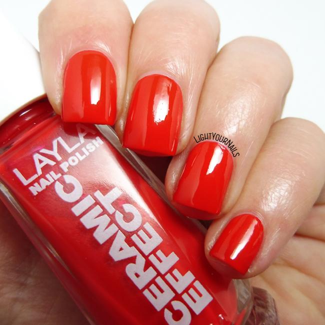 Smalto Layla CE45 Coral Bay nail polish
