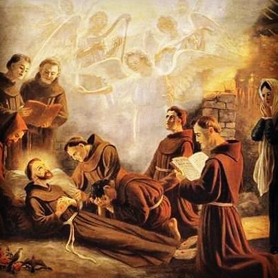 São Francisco e seu encontro com a Irmã Morte
