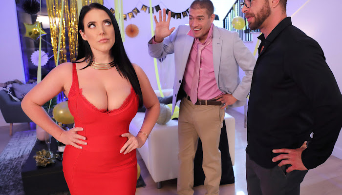 Brazzers / Real Wife Stories - Angela White Fappy New Year
