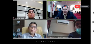 Capture Webinar Nasional LPPM Unram