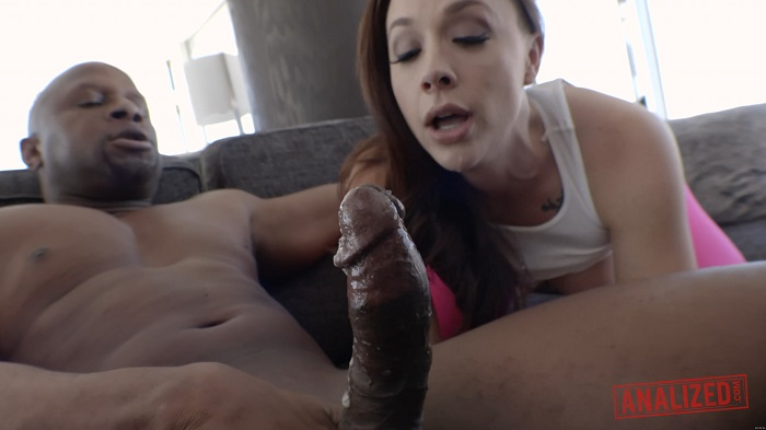 [ANALIZED]2017-07-13 CHANEL PRESTON TAKES BLACK COCK UP HER ASS