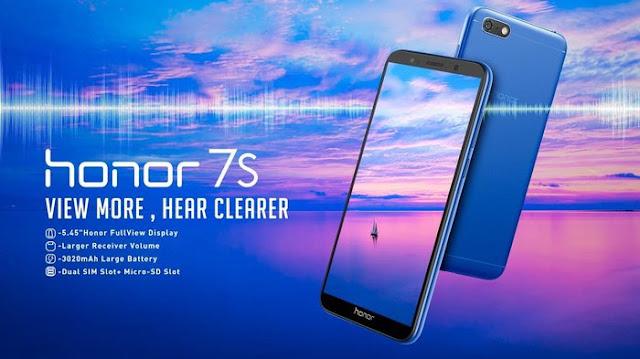 Honor 7S RAM 2GB dan ROM 16GB dengan harga Rp 1.350.000 di Tokopedia